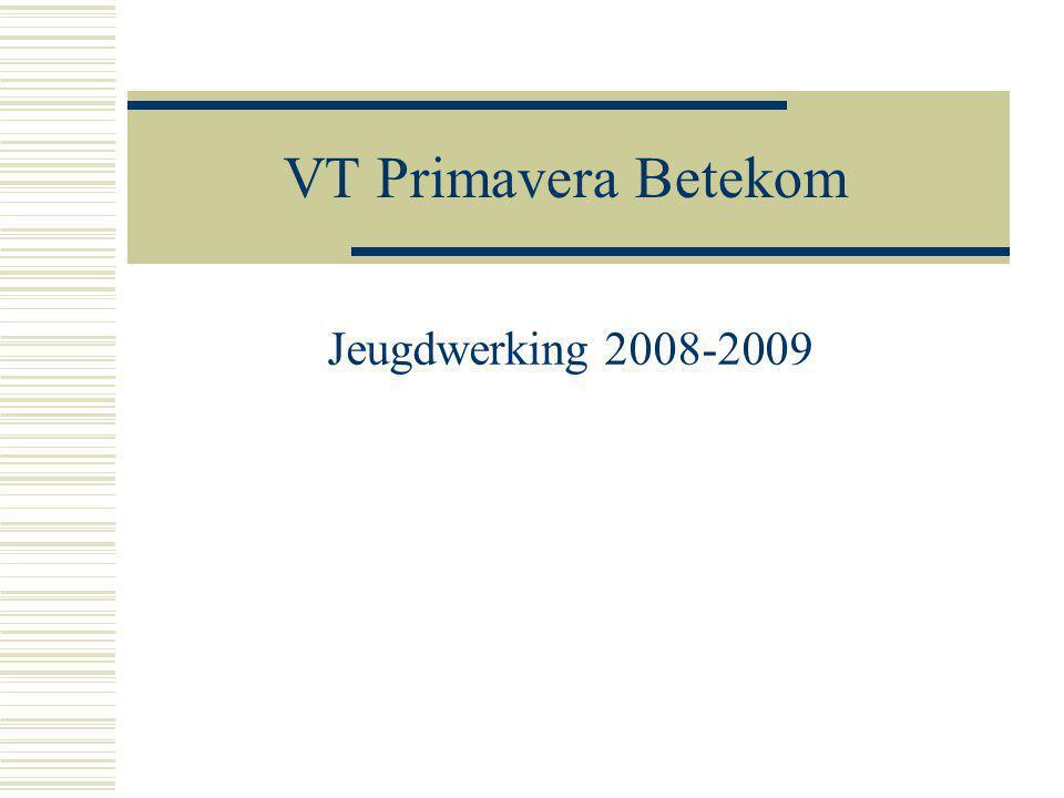 VT Primavera Betekom Jeugdwerking 2008-2009