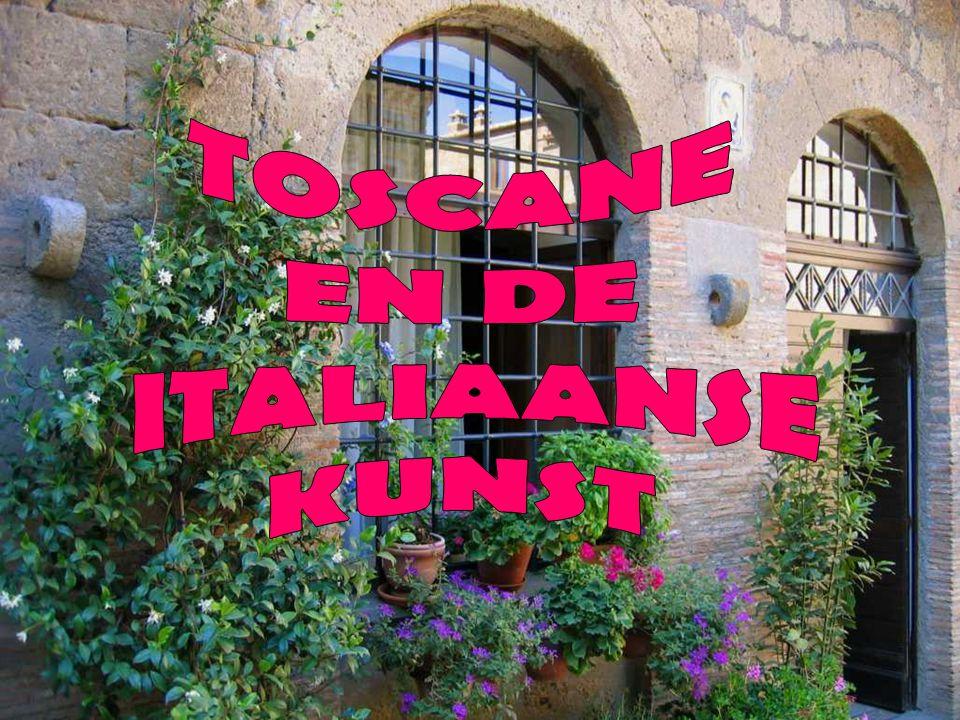 FLORENCE De hoofdstad van Toscane, gelegen aan de voet van de Apenijnen, doorkruist door de rivier Arno.
