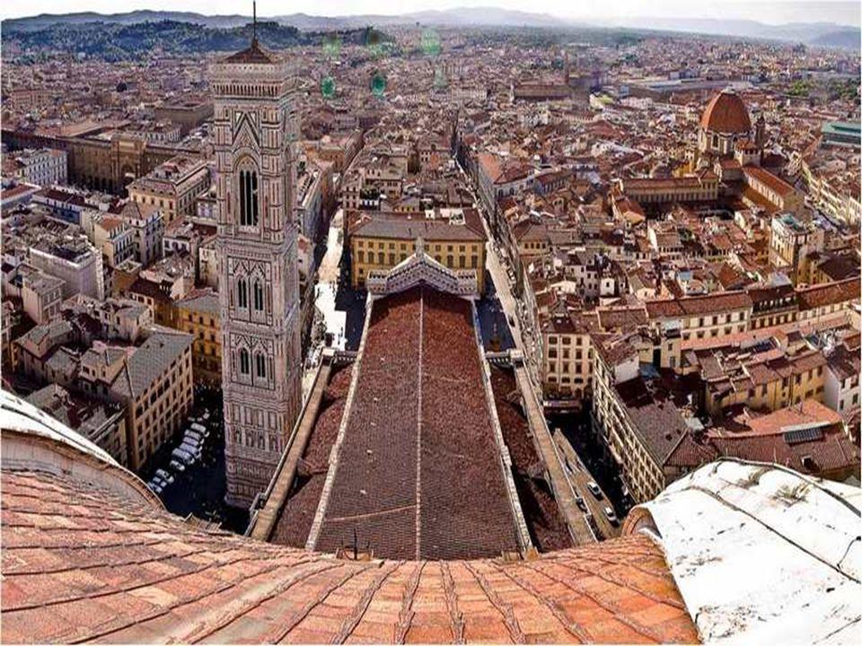 FLORENCE De hoofdstad van Toscane, gelegen aan de voet van de Apenijnen, doorkruist door de rivier Arno. Wieg van de renaissance, hoofdstad van het It