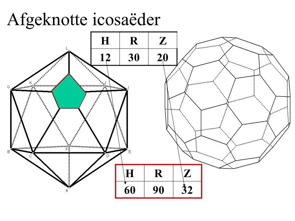 Afgeknotte icosaëder HRZ 123020 329060 ZRH