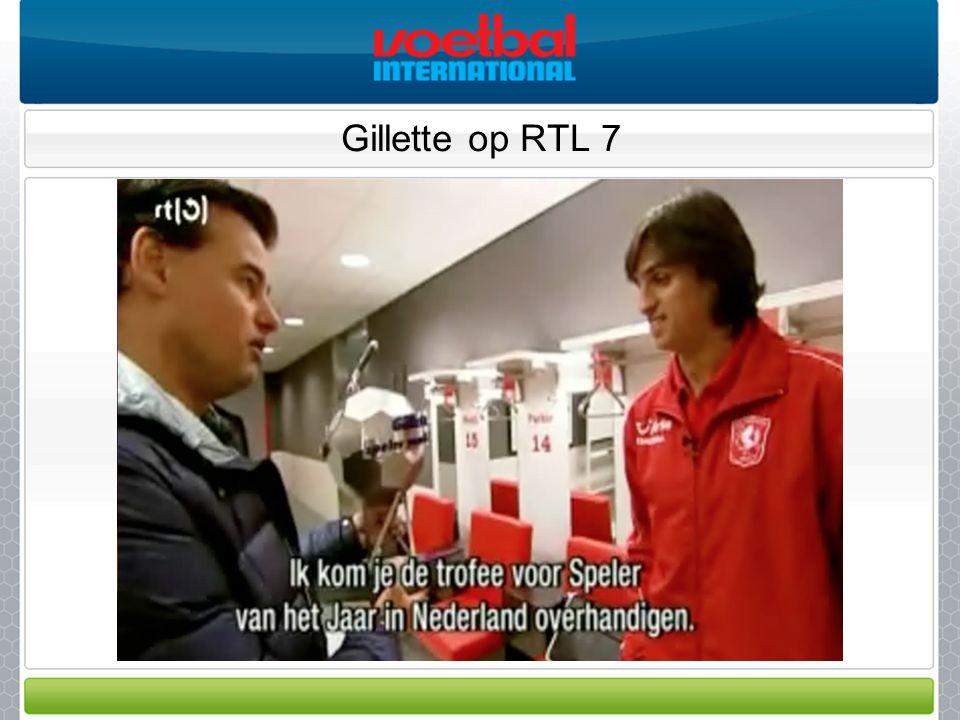 Gillette op RTL 7