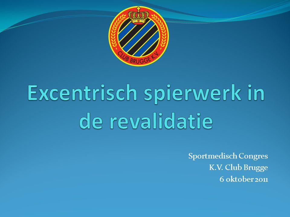 Sportmedisch Congres K.V. Club Brugge 6 oktober 2011
