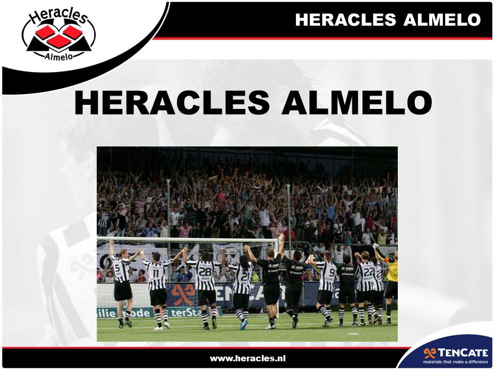 HERACLES ALMELO www.heracles.nl HERACLES ALMELO