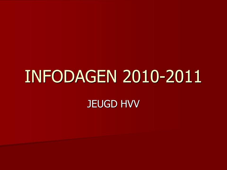 INFODAGEN 2010-2011 JEUGD HVV
