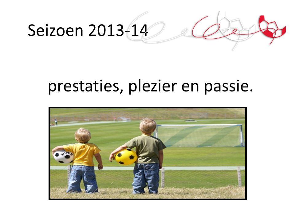 Seizoen 2013-14 prestaties, plezier en passie.