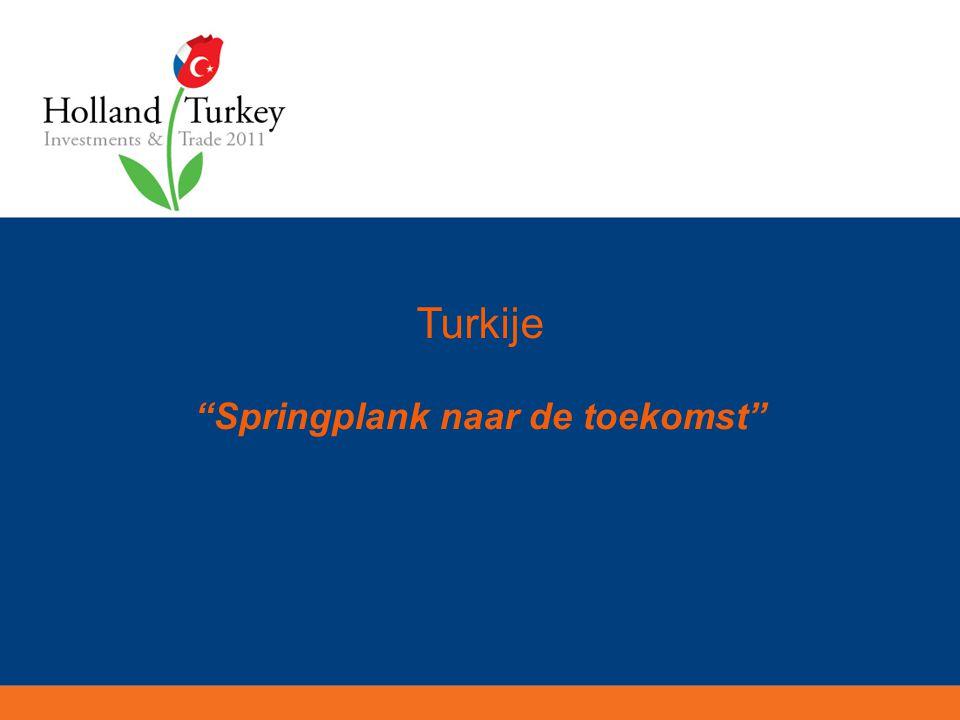 Turkije Springplank naar de toekomst