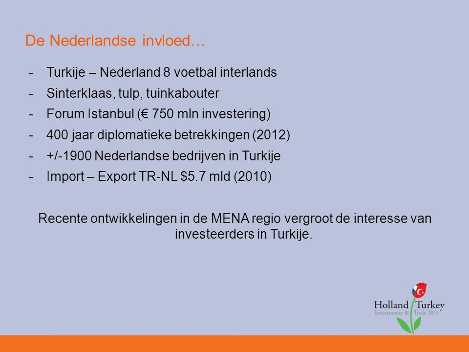 Turkije in vogelvlucht -Pre-emerging market (MIST) -Krachtige economie -Gem.
