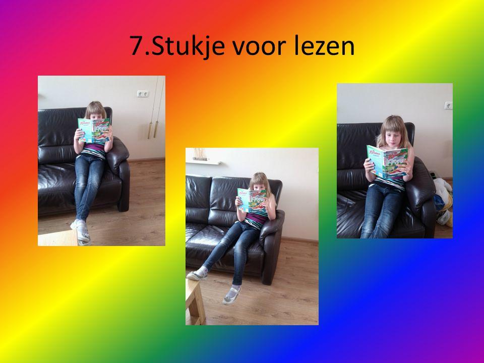 7.Stukje voor lezen