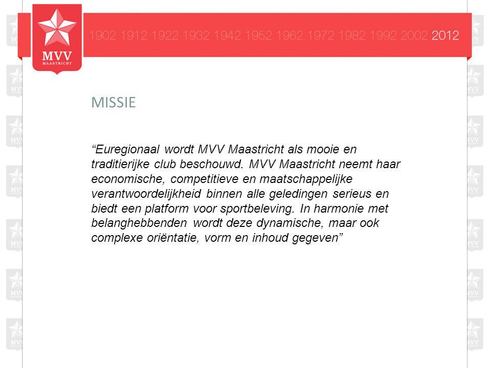 Euregionaal wordt MVV Maastricht als mooie en traditierijke club beschouwd.