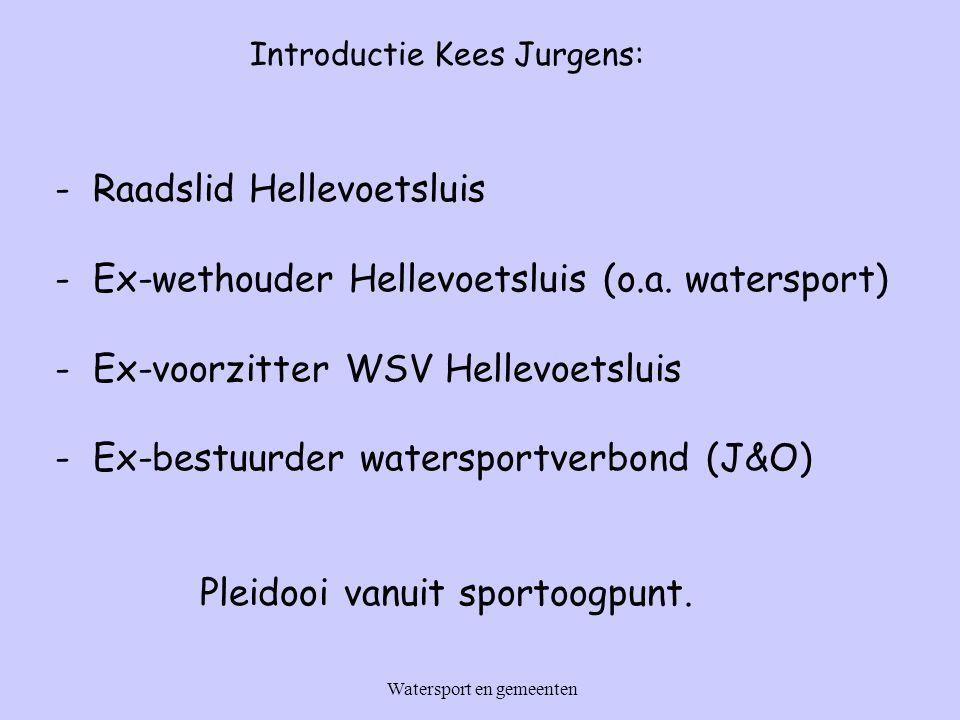 - Raadslid Hellevoetsluis - Ex-wethouder Hellevoetsluis (o.a.