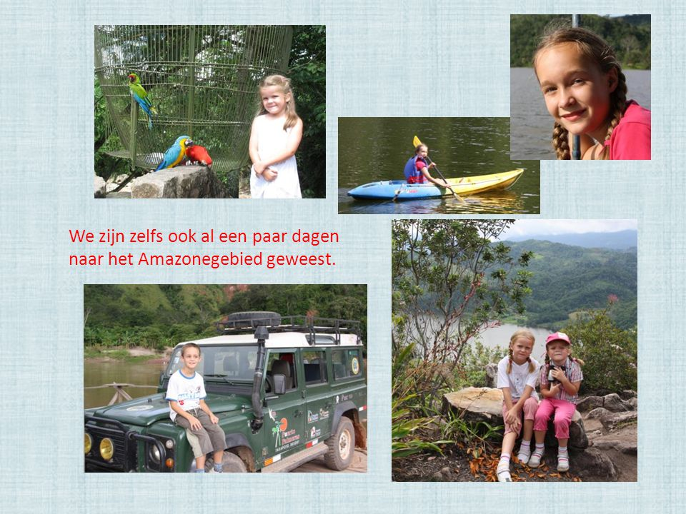 Fijne vakantie ! Groetjes uit Peru van Anne, Christof, Bente en Teresa