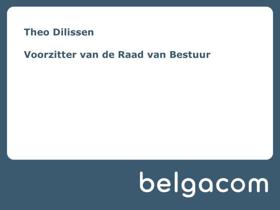 Inleiding Voorzitter 2010 Integratie van Proximus, Telindus en Skynet in Belgacom NV en goedkeuring van de eengemaakte HR policy Klantgerichtheid centraal in onze activiteiten Innovatie via partnerships