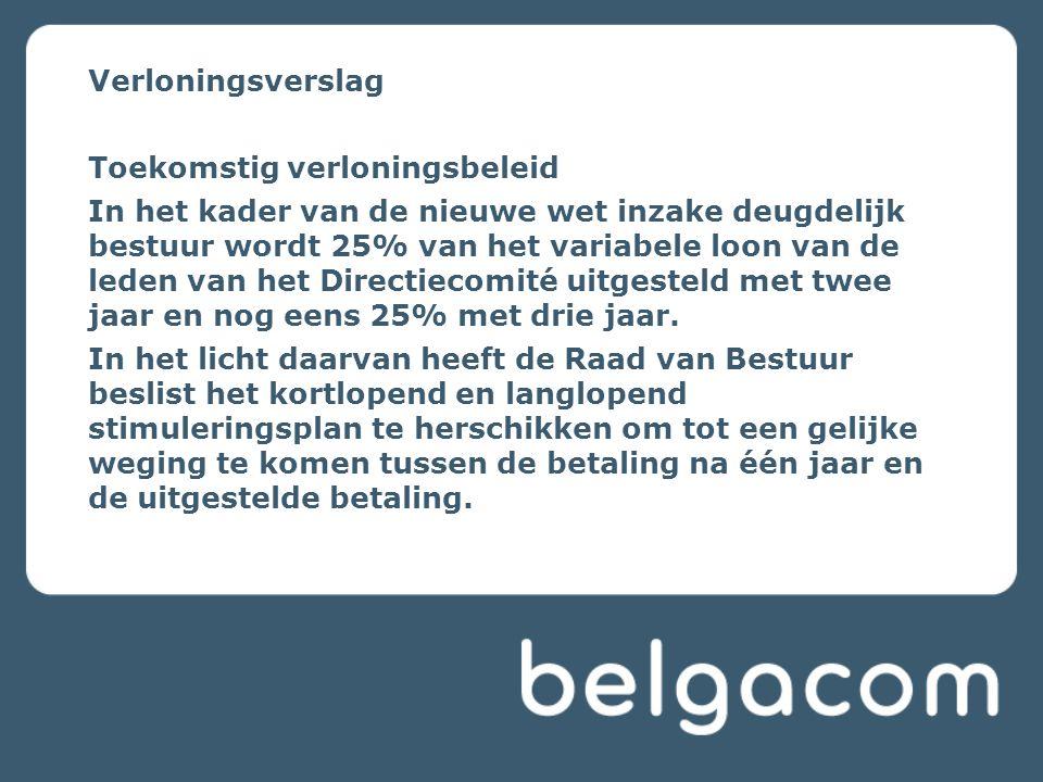 Belgacom goed geplaatst om voordeel te halen uit groeipotentieel 'mobiele data' In 2010 Belgacom Groep > € 500 miljoen opbrengsten uit mobiele data Marktleider voor Mobiel Internet op laptop: 182.000 klanten, + 60% t.o.v 2009 Boost in verkoop van smartphones en Mobile Internet on GSM Belgacom goed geplaatst om te delen in mobiele data groei Internet Op GSM Probeer het .