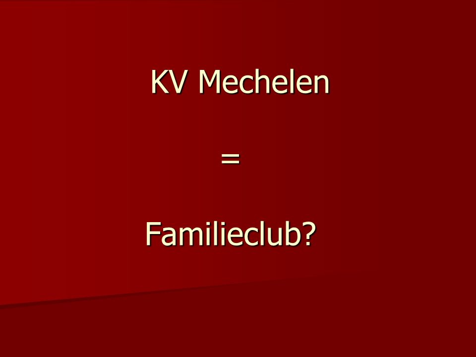 KVM is veilig om met kinderen wedstrijden bij te wonen?