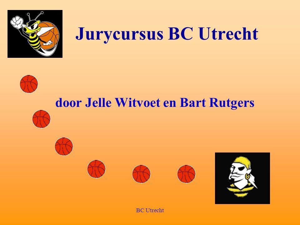 BC Utrecht Jurycursus BC Utrecht door Jelle Witvoet en Bart Rutgers
