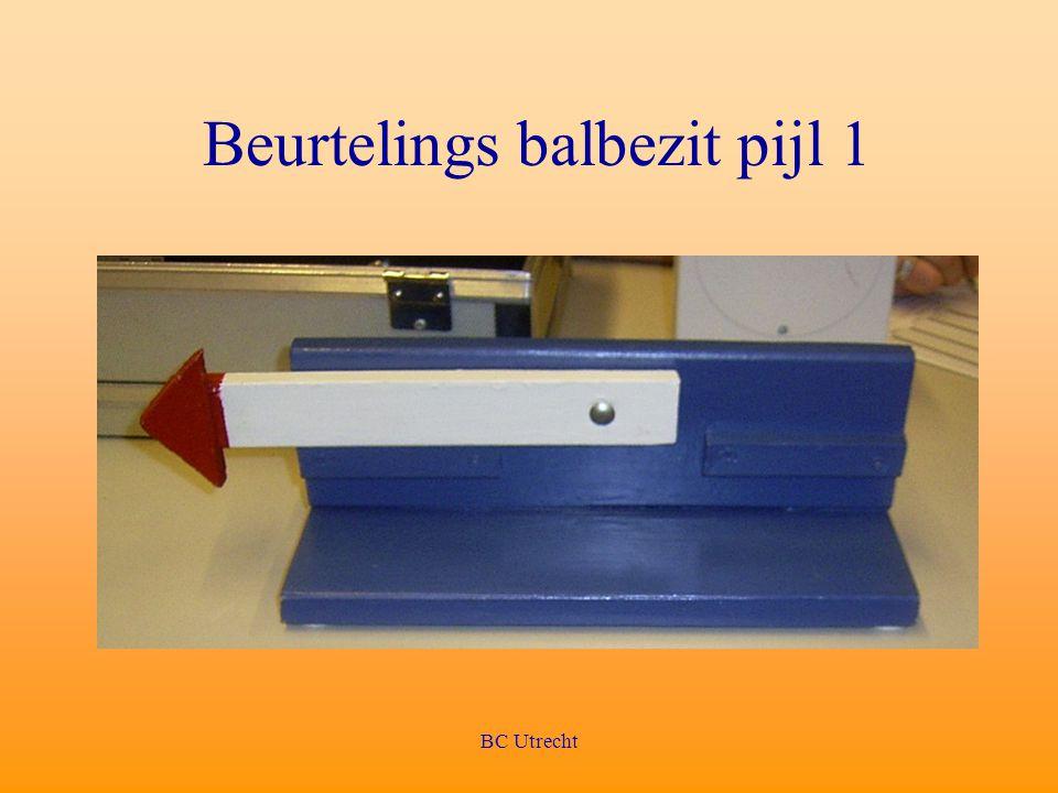 BC Utrecht Beurtelings balbezit pijl 1
