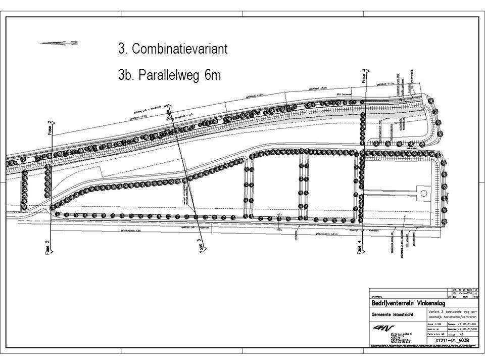 3. Combinatievariant 3b. Parallelweg 6m