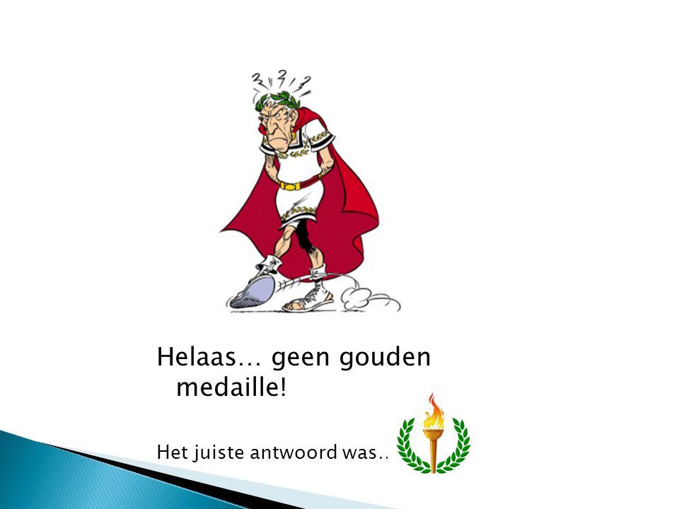 De vijfde gouden medaille is binnen!