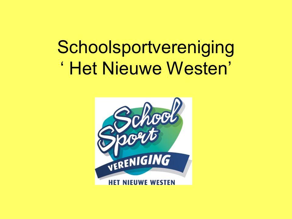 Schoolsportvereniging ' Het Nieuwe Westen'