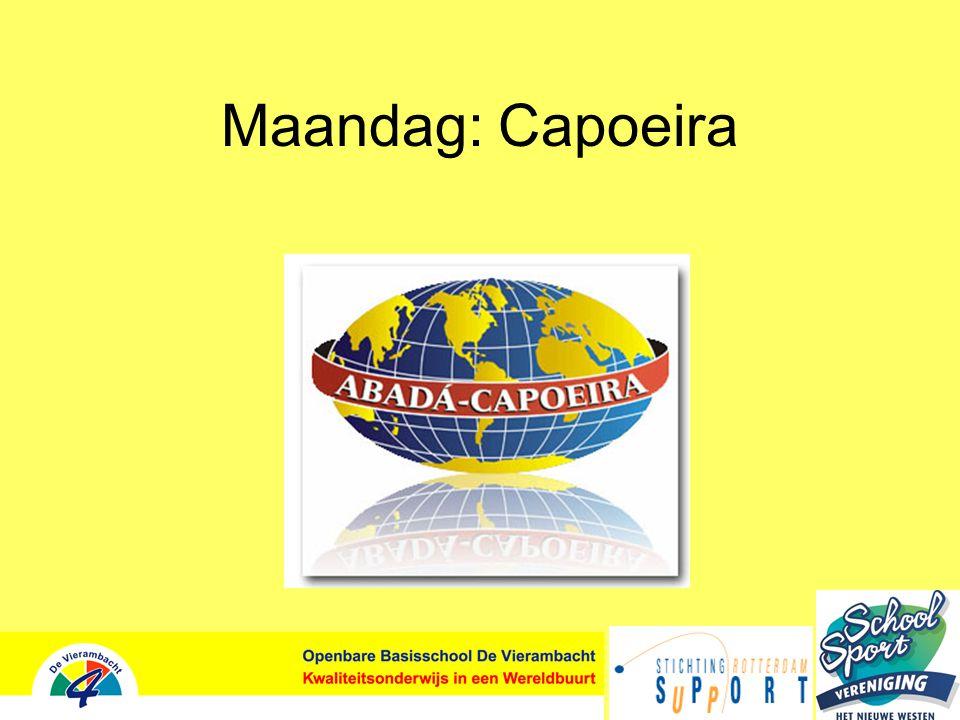 Maandag: Capoeira