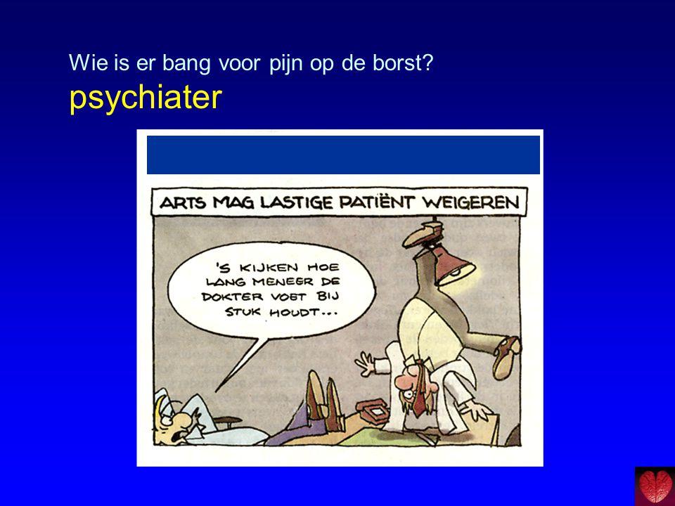 Paniekprovocatie Biologische achtergrond paniekstoornis Lactaat model: lactaatgevoeligheid bij paniekstoornis.