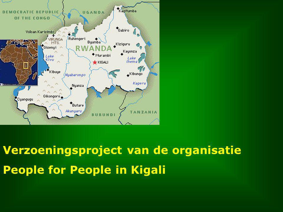 Verzoeningsproject van de organisatie People for People in Kigali