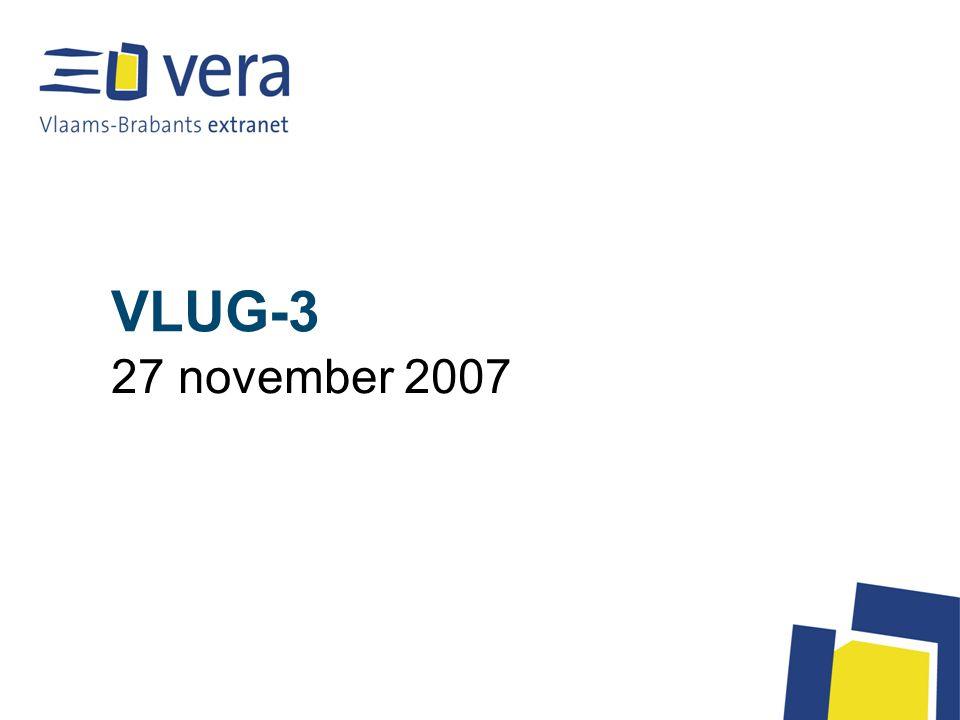 VLUG-3 27 november 2007
