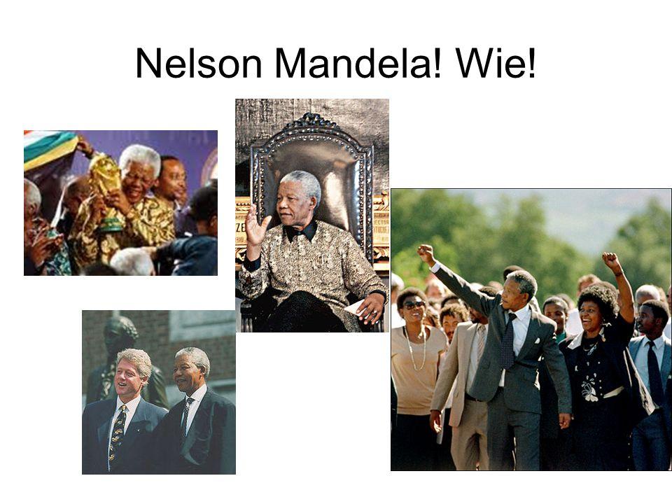 De geschiedenis van Nelson Mandela Geboren op 18 juli 1918 in MVezo.