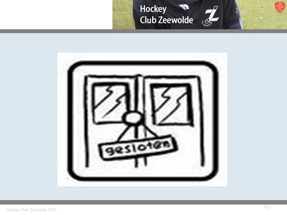 Hockey Club Zeewolde 2011 ALV