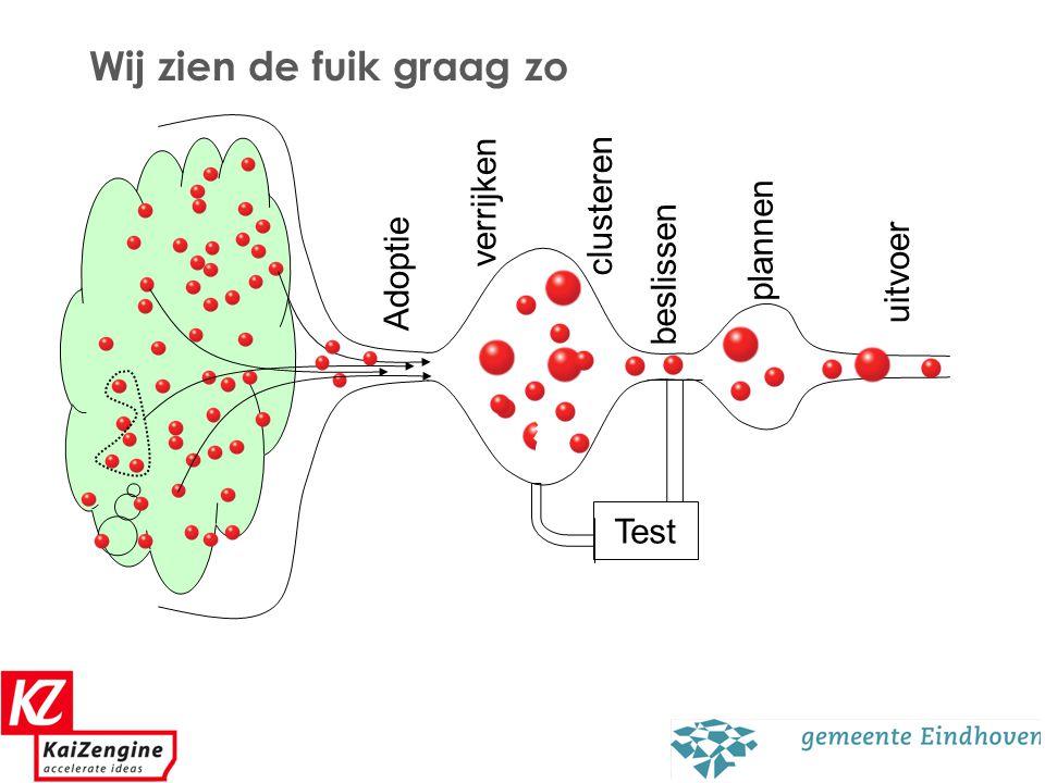 11 Wij zien de fuik graag zo Adoptie beslissen verrijken clusteren plannen uitvoer Test