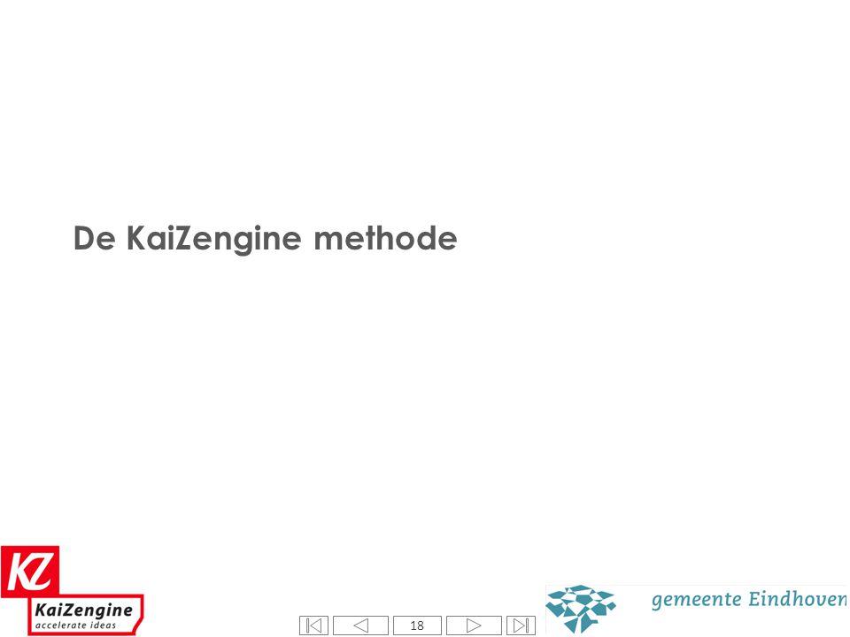 18 De KaiZengine methode 18