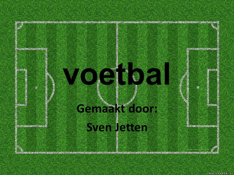 voetbal Gemaakt door: Sven Jetten