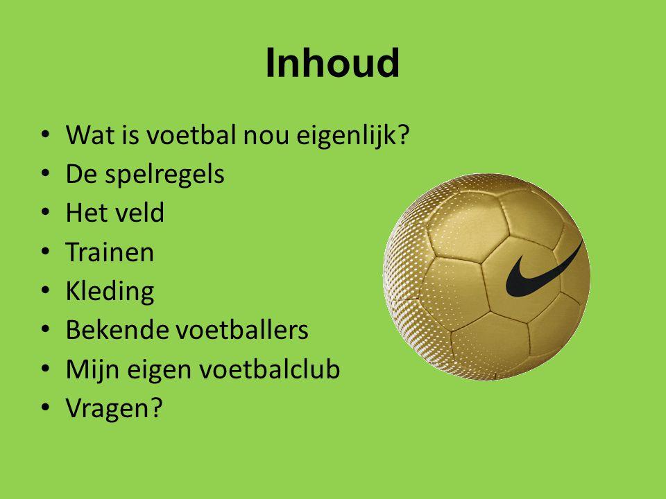 Wat is voetbal nou eigenlijk.