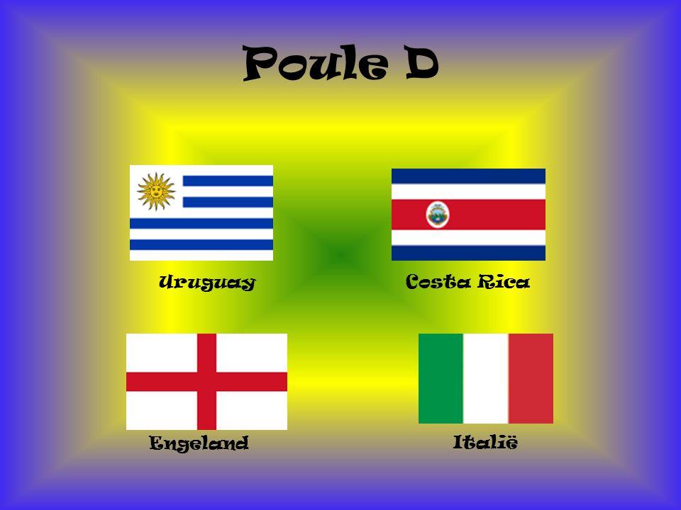 Poule D Uruguay Italië Engeland Costa Rica