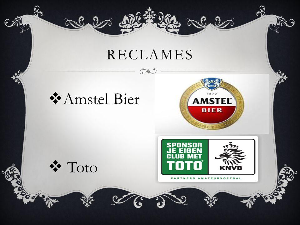 RECLAMES  Amstel Bier  Toto