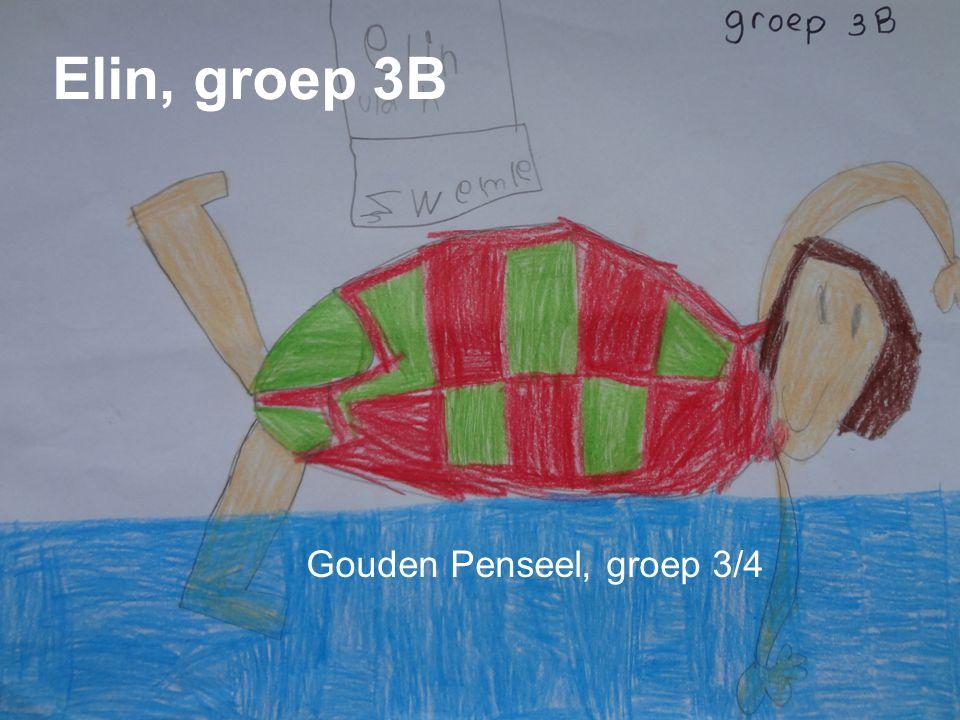 Vuk g r o e p 3 A Zilveren Penseel, groep 3/4