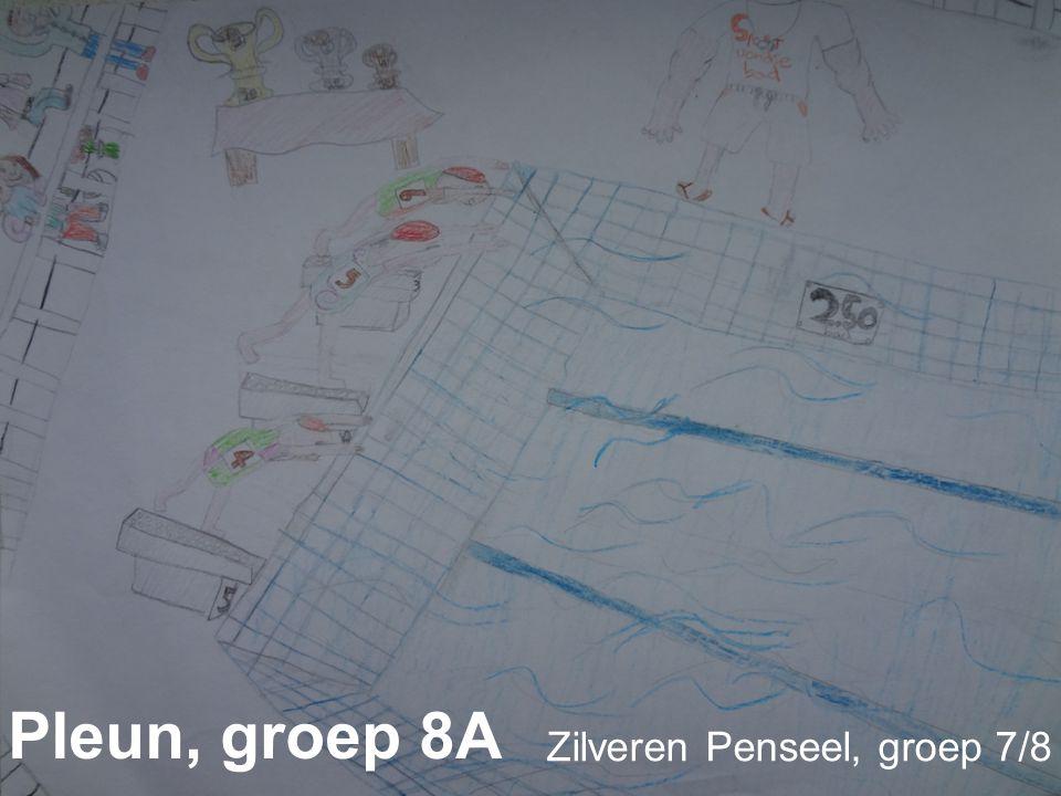 Pleun, groep 8A Zilveren Penseel, groep 7/8
