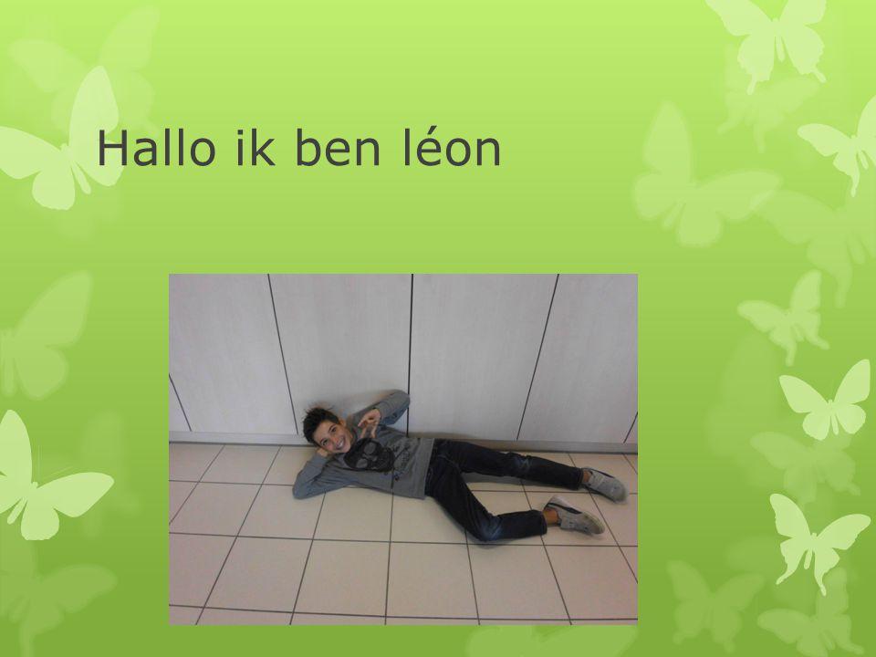 Hallo ik ben léon
