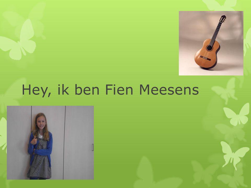 Hey, ik ben Fien Meesens