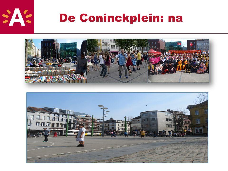 De Coninckplein: na