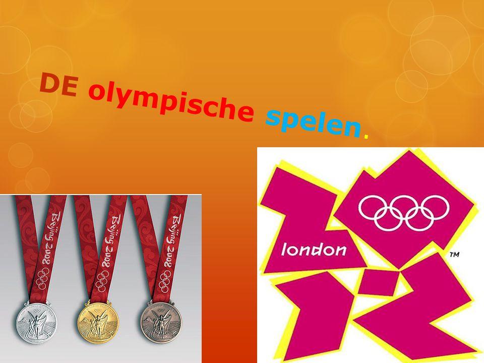 Olympische medailes Je hebt drie soorten olympische medailes dat zijn goud,zilver en brons.
