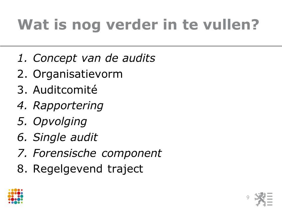 Concept van de audits Sterkte-zwakteanalyse 10