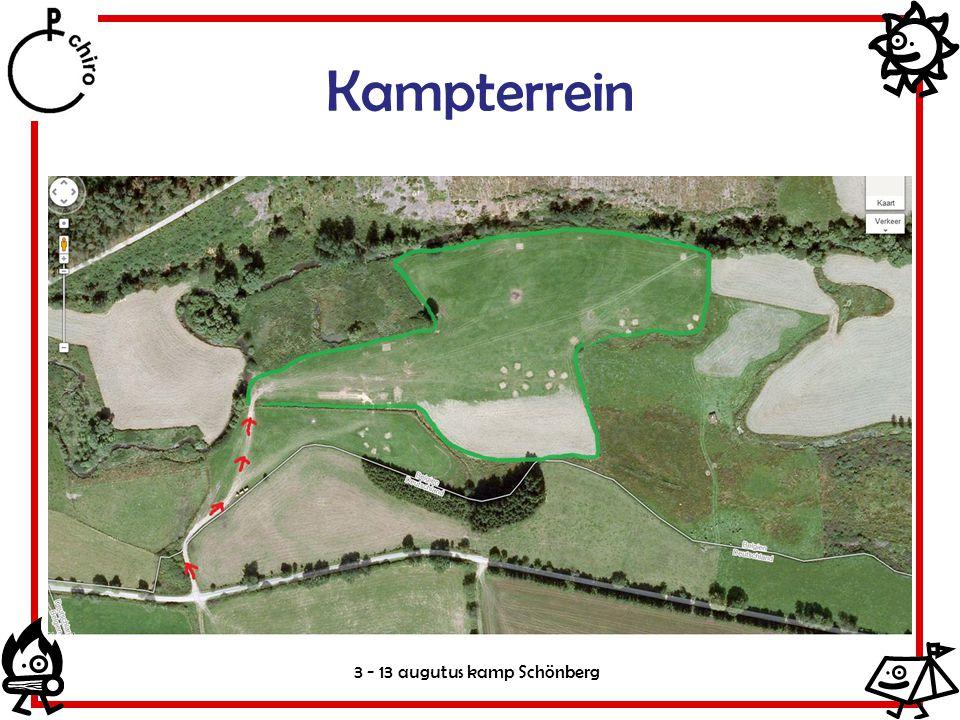 Kampterrein 3 - 13 augutus kamp Schönberg