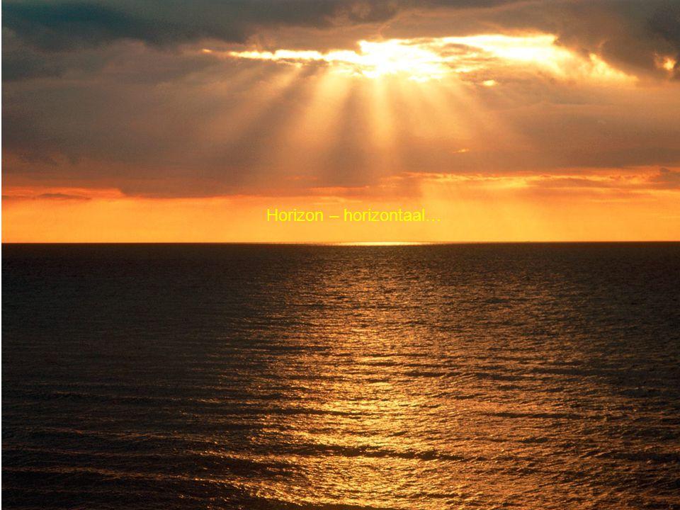 Horizon – horizontaal…