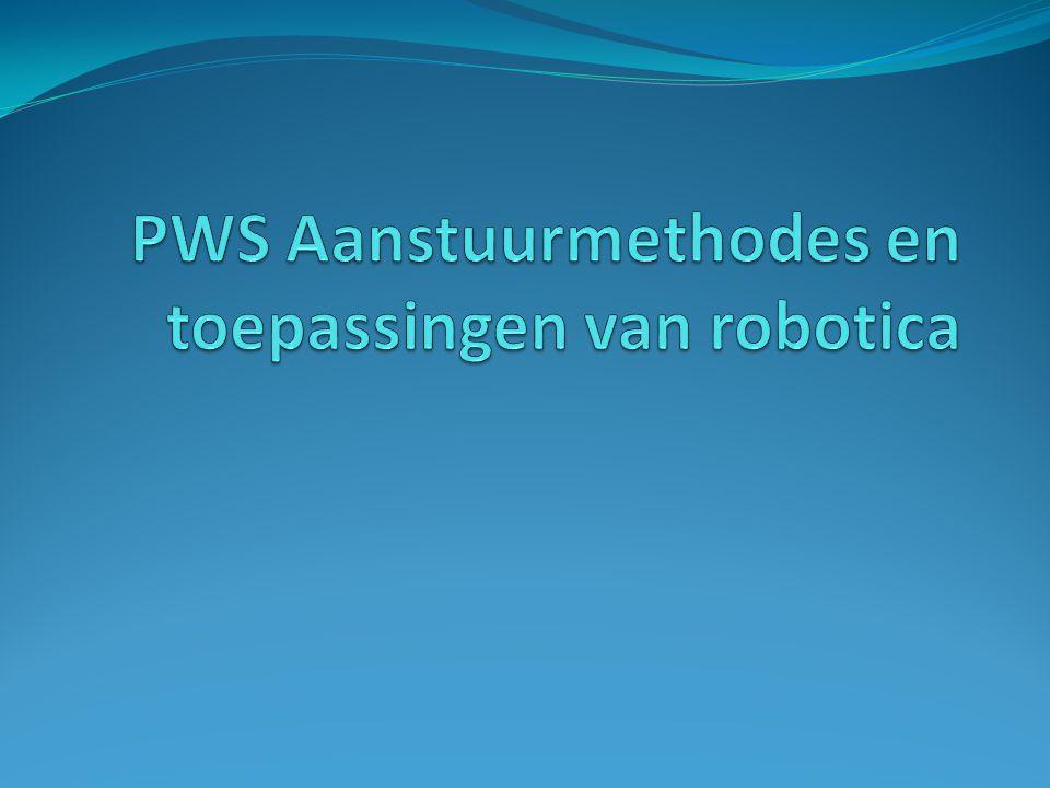 Robotica in opkomst Defensie (EOD) De zorg (operatierobots) Entertainment (volautomatisch voetbal) Industrie (massaproductie)