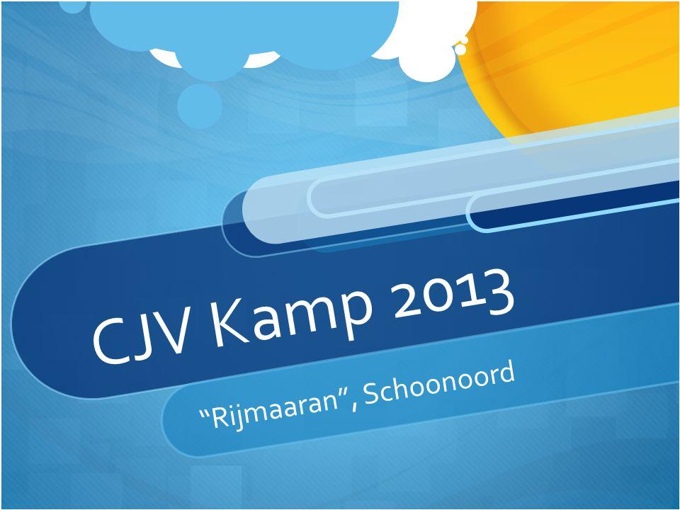"CJV Kamp 2013 ""Rijmaaran"", Schoonoord"