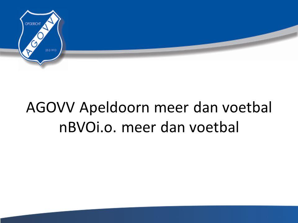 AGOVV Apeldoorn meer dan voetbal nBVOi.o. meer dan voetbal