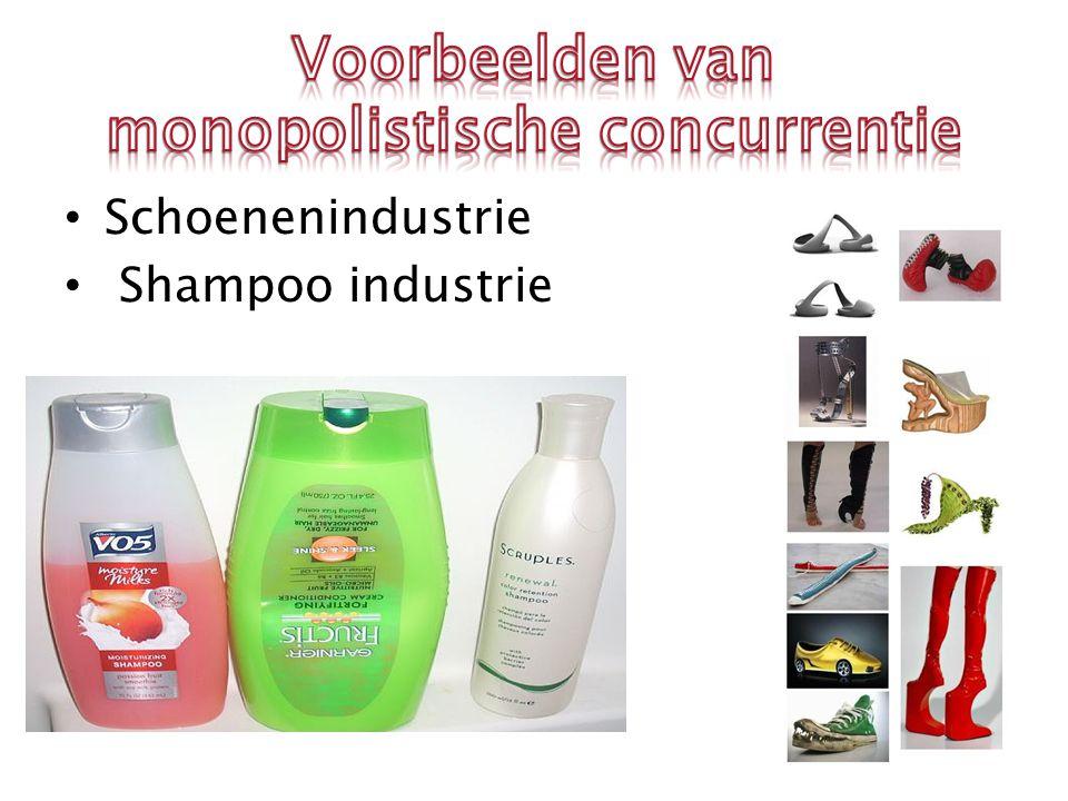 Schoenenindustrie Shampoo industrie