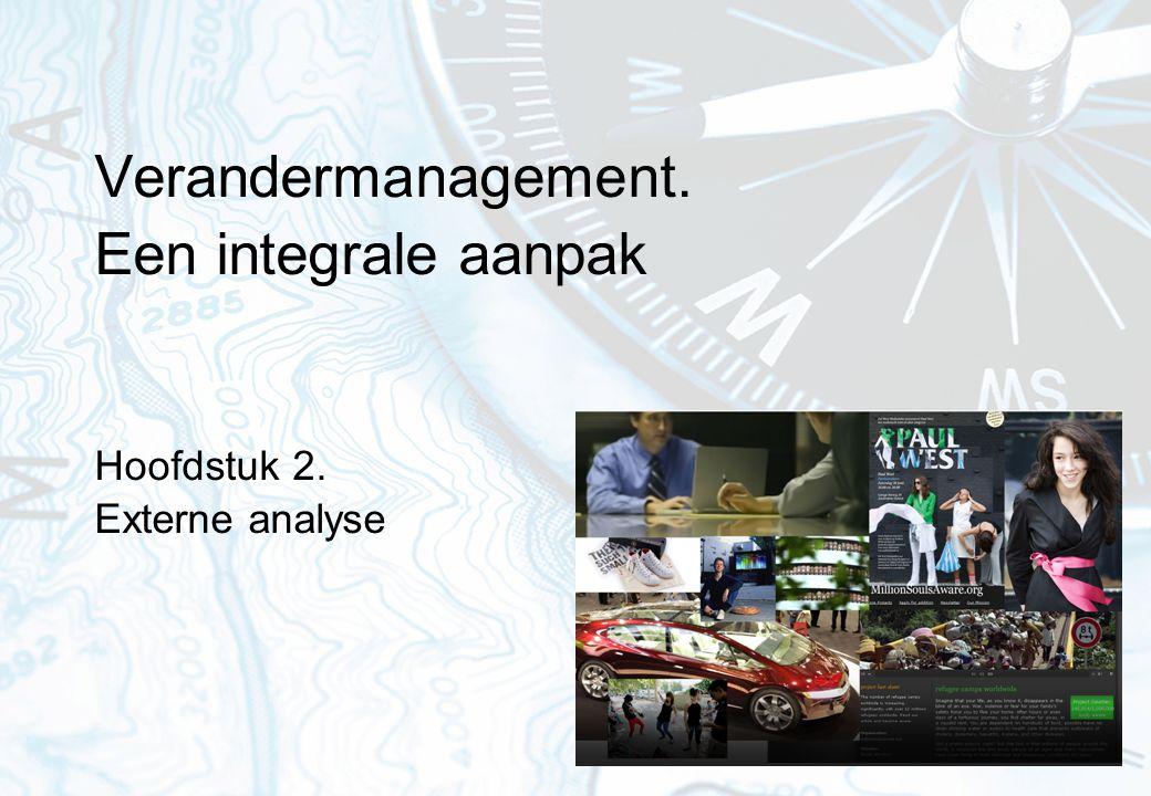 Verandermanagement. Een integrale aanpak Hoofdstuk 2. Externe analyse