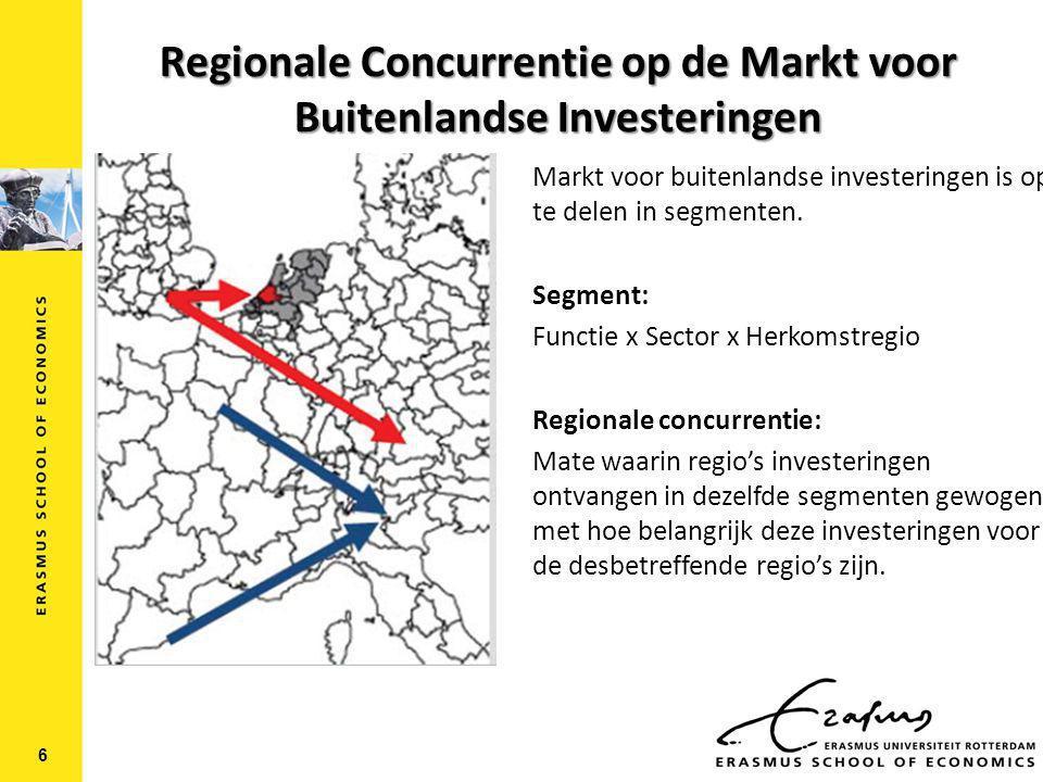 Data  fDI Markets Investment Monitor van de Financial Times  Monitor directe buitenlandse greenfield investeringen voor periode 2003-2011.